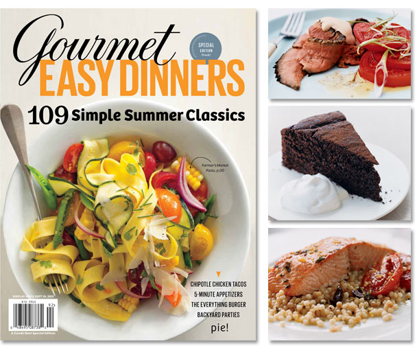 Gourmet easy dinners special edition magazine food cooking gourmet easy dinners special edition magazine forumfinder Images