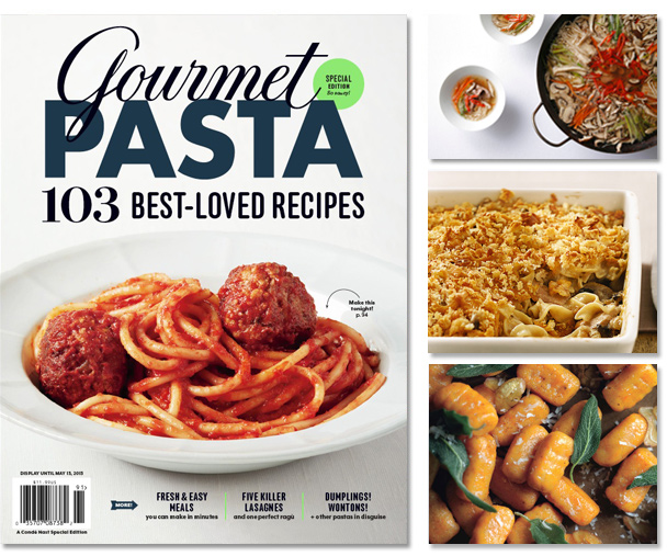 Gourmet easy dinners special edition magazine food cooking gourmet pasta special edition forumfinder Images