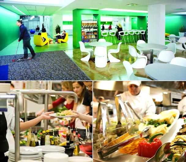 Inside Google S Kitchens Food Cooking Gourmet Com