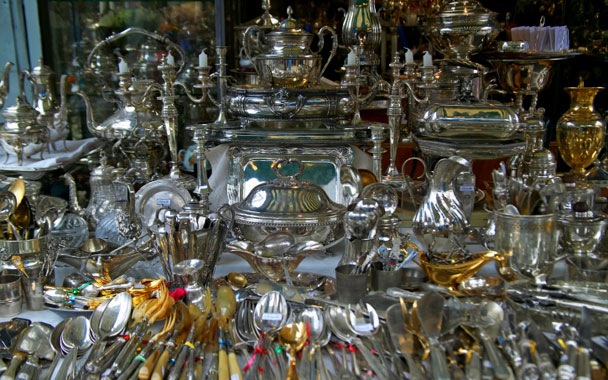 Flea Markets in Paris: City Guides : gourmet.com