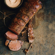 Beef Tenderloin with Smoked-Paprika Mayonnaise