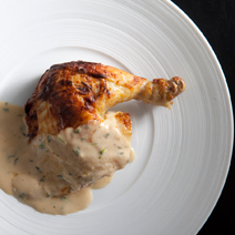 roasted mustard tarragon chicken