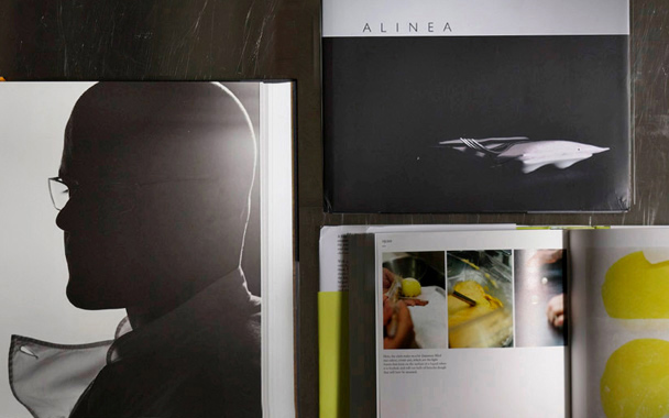 The Big Fat Duck Cookbook; Alinea; and A Day at elBulli